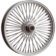 "ATTITUDE INC Chrome Max Spoke Wheel - Suits Harley - 21"" x 2.15"""