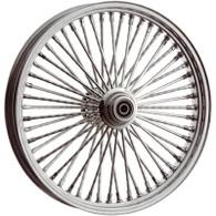 "ATTITUDE INC Chrome Max Spoke Wheel - Suits Harley - 21"" x 2.15"" DUAL DISC"