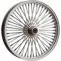 "ATTITUDE INC Chrome Max Spoke Wheel - Suits Harley - 18"" x 10.5"" REAR"