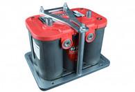 TLG Billet Optima Battery tray & Red Top 12V Battery Kit - 35