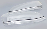 HDT Headlight Covers VE Commodore Series 2 SILVER/BLACK