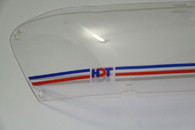 HDT Headlight Covers VE Commodore Series 1 RED/BLUE
