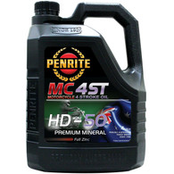 PENRITE MC-4 HD-50 Premium Mineral Motorcycle 4 Stroke Oil - 4L