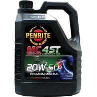 PENRITE MC-4 20W50 Premium Mineral Motorcycle 4 Stroke Oil - 4L
