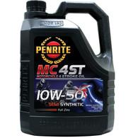 PENRITE MC-4 10W50 Semi Synthetic Motorcycle 4 Stroke Oil - 4L