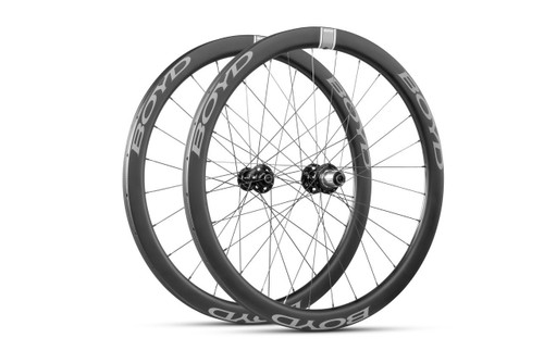 Boyd 44mm Carbon Clincher Disc Wheelset