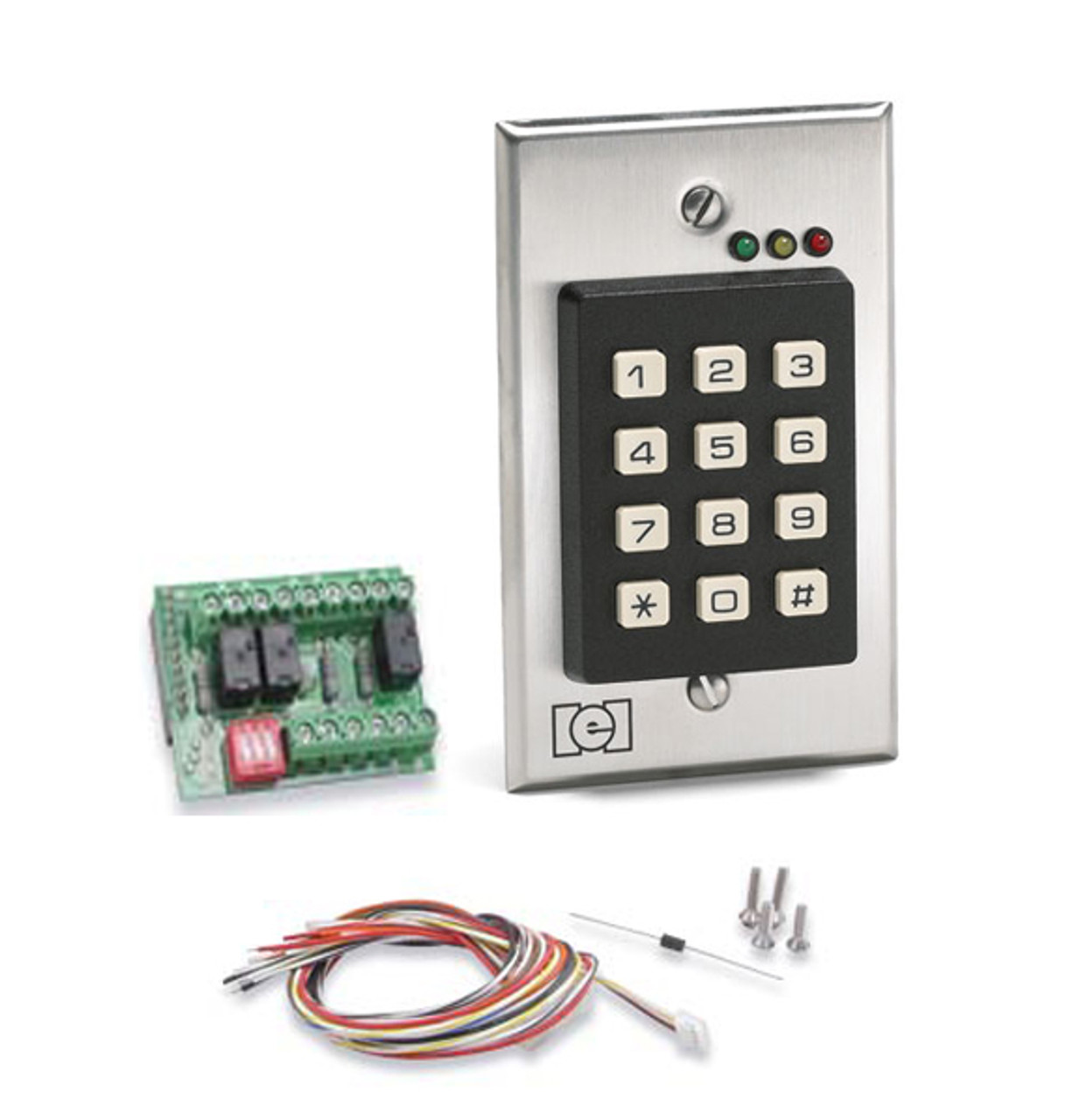 Linear 232i Indoor Flush Mount Keypad E D Locks