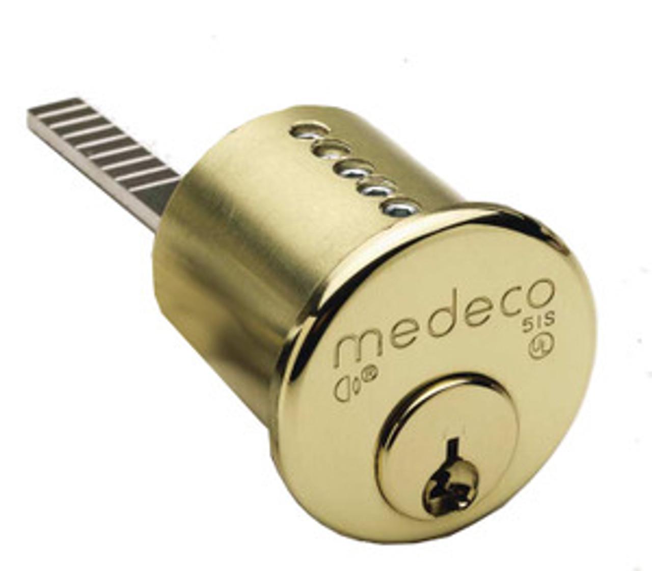 Medeco 10 0400 6 Pin Rim Cylinder E D Locks Amp Security Llc