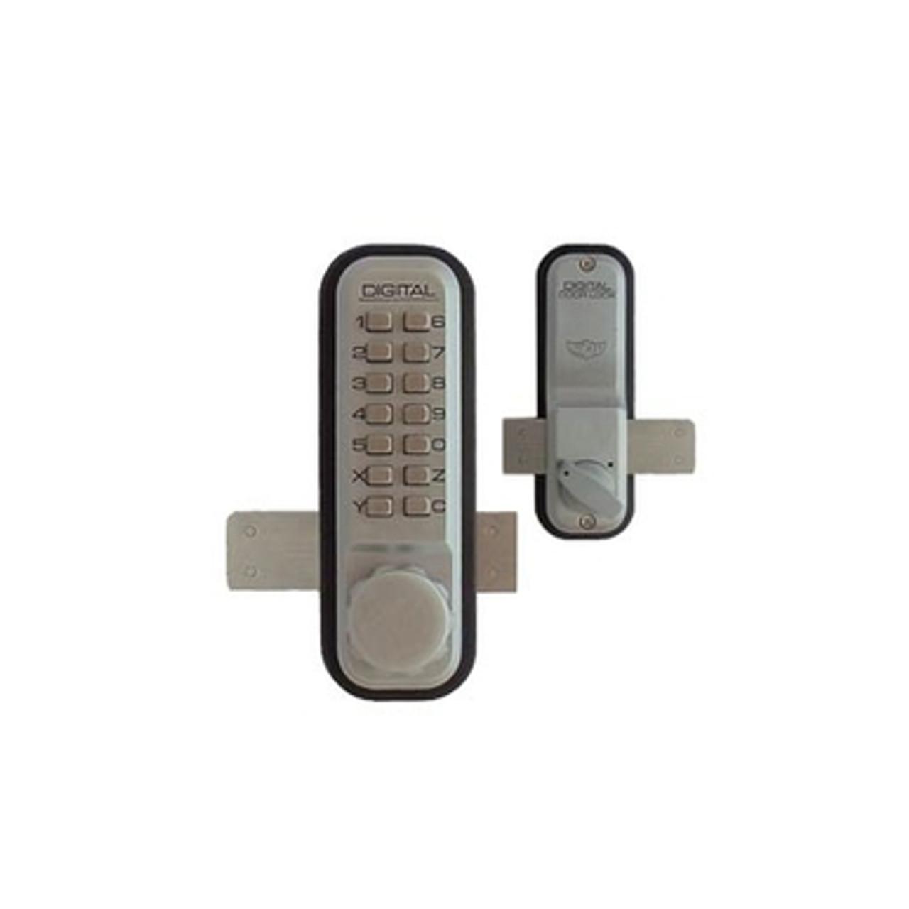 Lockey 2200sc Surface Mount Deadbolt Push Button Lock
