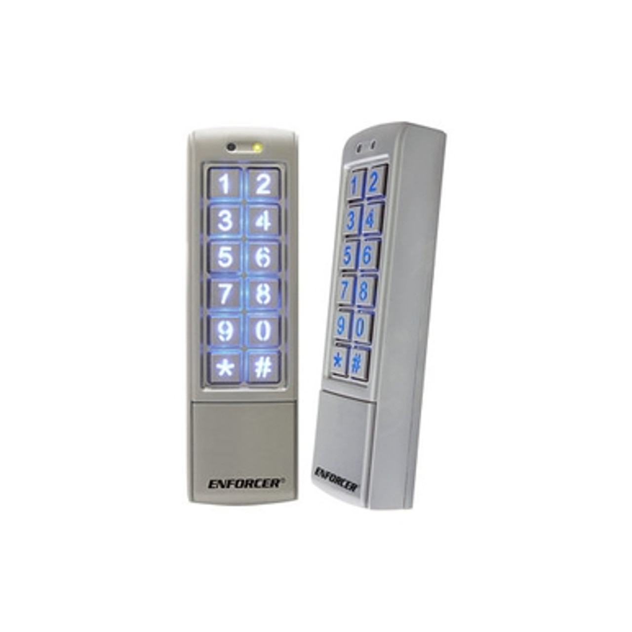 seco larm sk 2323 spq mullion style outdoor digital access keypad. Black Bedroom Furniture Sets. Home Design Ideas