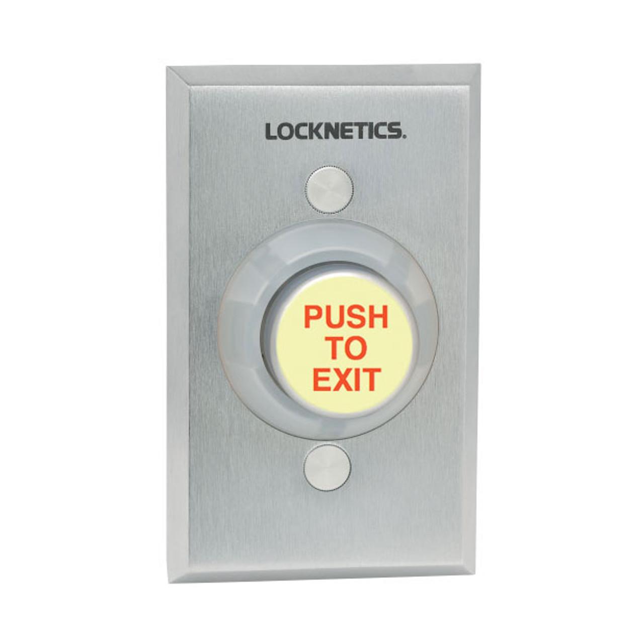Locknetics By Schlage 621gid Ex Dp Heavy Duty Exit Pushbutton