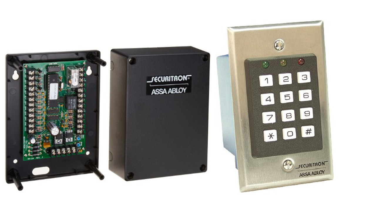 securitron dk 16 digital keypad system w circuit board. Black Bedroom Furniture Sets. Home Design Ideas