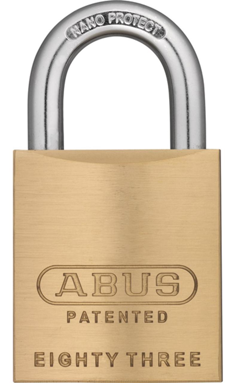Abus 83 45 200 Brass Rekeyable Padlock Kwikset Kw1 Keyway