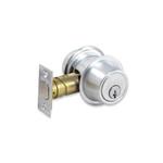 Schlage Double Cylinder B56P Deadbolt Lock (satin chrome)