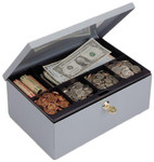 MMF Industries Cash Box With Security Lock