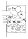 Schlage Grade 1 L9485LB Faculty / Hotel / Restroom Mortise Lock Body Only L9000 Series (Single Cylinder Deadbolt)