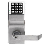 Alarm Lock DL2700-B-WP-26D Trilogy T2 Push Button Lock IC Core Weather Proof Satin Chrome
