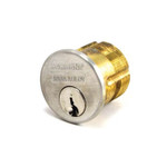 "Sargent 41 Series 41-RL-US3 1-1/8"" Polished Brass Mortise Cylinder"