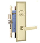 Marks Lock 9NY92 New Yorker Lever Plate Design For Apartment Entrance and Vestibule Door