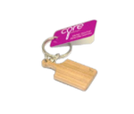 Core Home / Core Kitchen Pink Silicone Mini Paddle Cutting Board Keychain