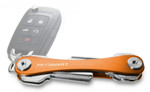 KeySmart Orange Premium Pocket Key Organizer & Key Holder