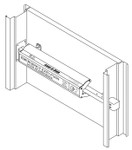 Arm-A-Dor Accesories A106-002 Low Profile Double Door Kit