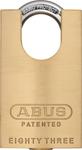 ABUS 83CS/45 Brass Rekeyable Concealed Shackle Padlock Schlage SC1 Keyway