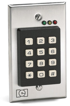 Iei Keypad 212i Indoor Flush Mount E D Locks Amp Security Llc