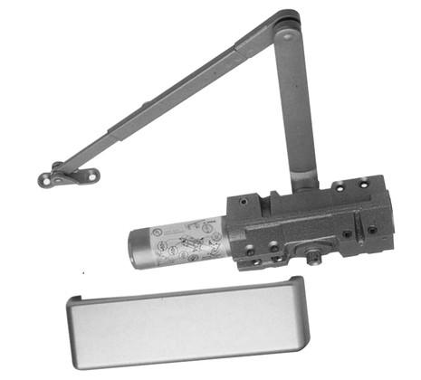 S. Parker Hardware 441BC Multi-Size Grade 1 Door Closer Aluminum Finish