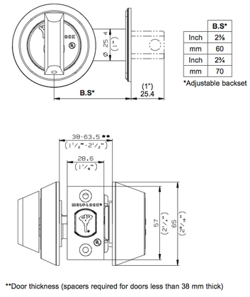 sargent mortise lock diagram
