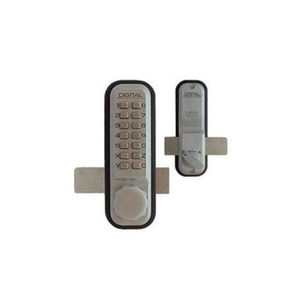 Lockey 2200sc Surface Mount Deadbolt Push Button Lock