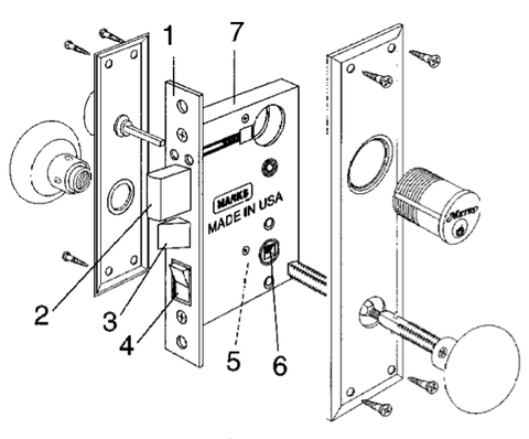 Safe Lock Diagram as well Radio Frequency Lock furthermore Hafele 23510400 Cam Lock Flush Brushed Chrome p 53672 besides Marks Usa 9615 26d Turnpiece Thumbturn besides Sugatsune Dsb 04 Paper Towel Holder. on electronic access control door locks