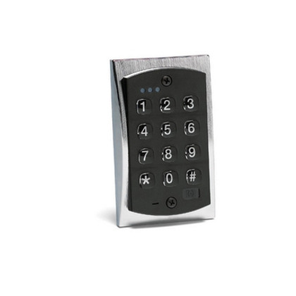 linear 2000e flush mount backlit access control keypad. Black Bedroom Furniture Sets. Home Design Ideas