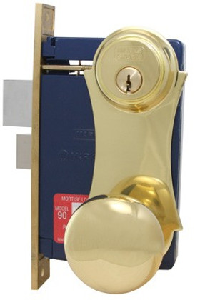 Marks 21AC UniLock Mortise Lock for Security Door / Storm Door