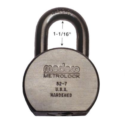 Medeco 52-7 Metrolock 52 Series High Security Padlock