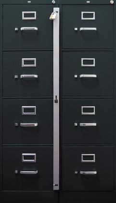 Abus Ml Series File Cabinet Locking Bar