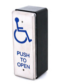 Handicap Stainless Steel Exit Push Plate VG-PB26