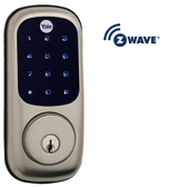 Yale Real Living YRD220-619ZW-KW Z wave Touchscreen Deadbolt