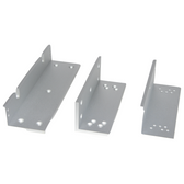 Camden CX-1002 SET OF L & Z Brackets For 1200 LB Mag Lock For use on In-swing Doors