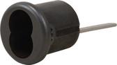 Medeco 32-0475H Rim Cylinder Housing Black Finish