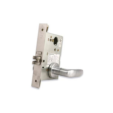 Schlage L9050l 07a Office Entrance Less Cylinder Mortise Lock