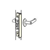 Don-jo ALP-206 Key in Knob Outswing Latch Protector