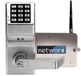 Alarm Lock DL6100-26D Cylindrical Trilogy Networx PIN-Code Wireless Access Control Lock