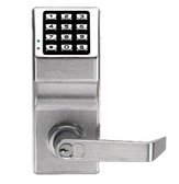 Alarm Lock DL2700-26D Trilogy T2 Push Button Lock Satin Chrome
