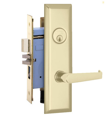 Marks Lock 9ny92 New Yorker Lever Plate Design For