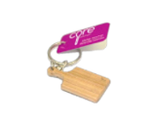Core Home / Core Kitchen Pink Silicone Mini Paddle Cutting Board Keychain