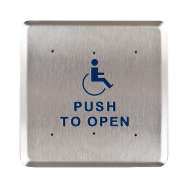 Bea 10pbs61 6 Quot Handicap Push To Open Square Push Plate