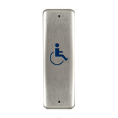 Bea 10PBJ1 Handicap Jamb Push Plate