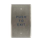 Bea 10PBO24E Push To Open Single Gang Push Plate