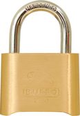 ABUS 18/50 Brass Die Cast 4 Dial Combination Padlock